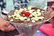 de cobertura de chocolate com leite condensado e chocolate do padre