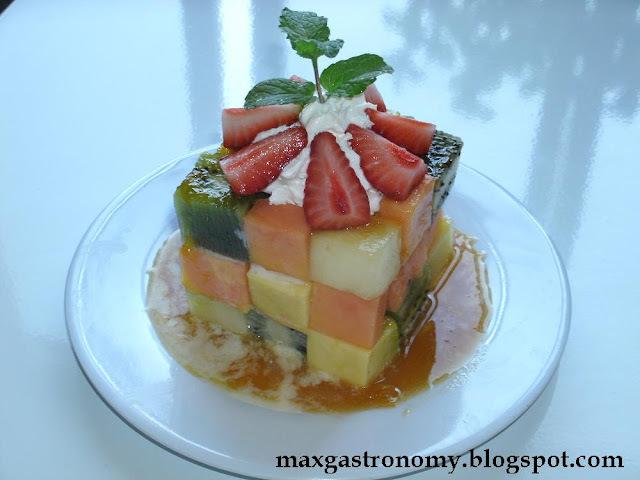 Receita No. 1 - Cubo Mágico de Frutas.