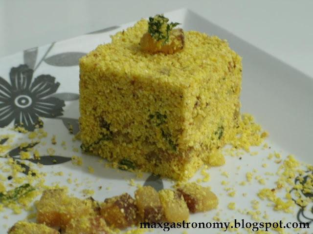 farofa feijoada com farinha de milho