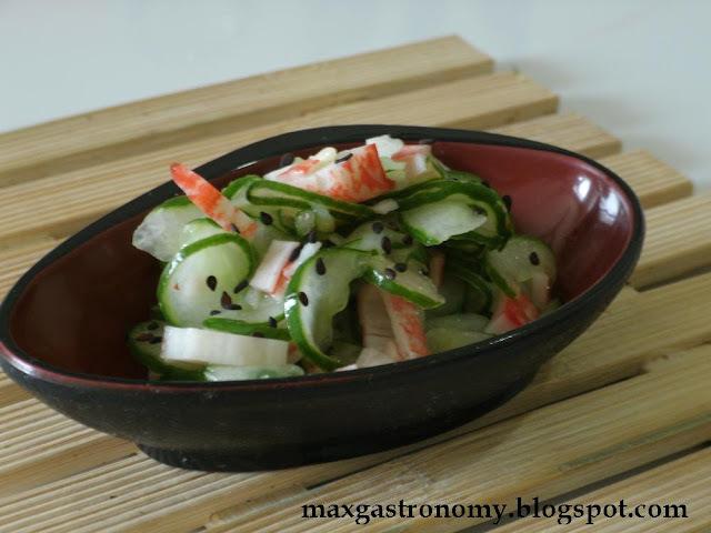 Receita No. 32 - Kyuri Sunomono (Sunomono de Pepino) 胡瓜 酢の物
