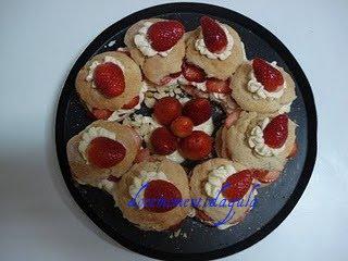 Bolo Americano de Morangos (Shortcake)
