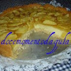 Torta de maçã da Giulia Gam