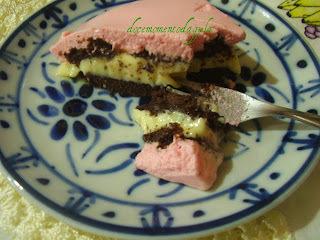 Brownie Suíço com recheio de Maracujá