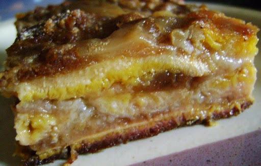 TORTA INTEGRAL DE BANANA