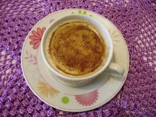 Creme de café - Cappuccino em casa