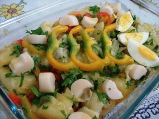 Salada Brazuca - domingo em verde e amarelo!
