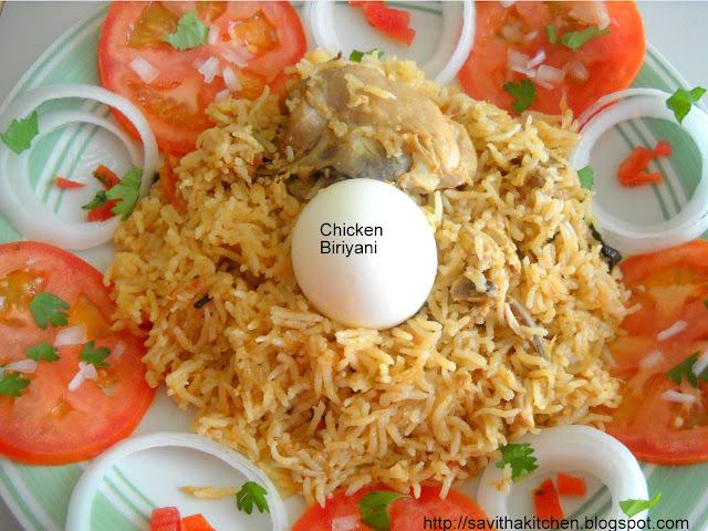 Chicken Biriyani  ( Anjappar style)