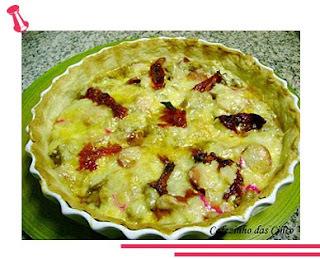 Torta de Berinjela com Queijo e Tomate Seco!