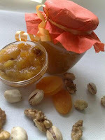 Marmelada (namaz) od marelica sa orahom i pistaciama