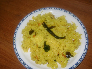 lemon rice in temple