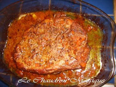 cuisson du mou de porc