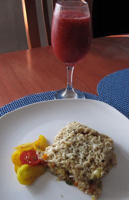 Menú del día: Lasaña de quinoa