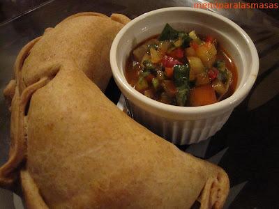 Menú del día: Empanadas de pino vege