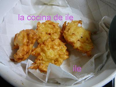 Buñuelos de papa y  mandioca