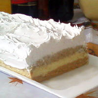 Pesak torta recept