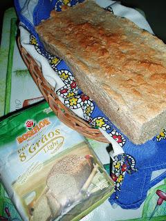 O pão semi-caseiro
