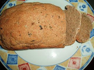 Pão caseiro de cebola