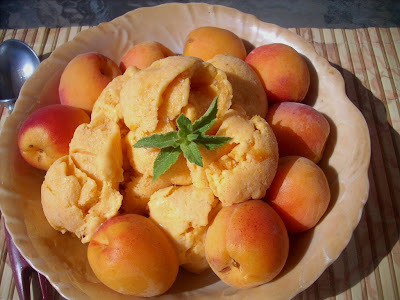 Apricots Ice Cream