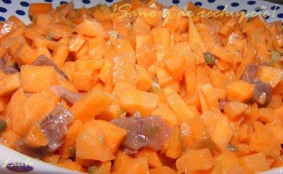 Zanahorias marinadas