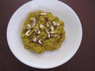 Oats Pudding (Microwave samaiyal)