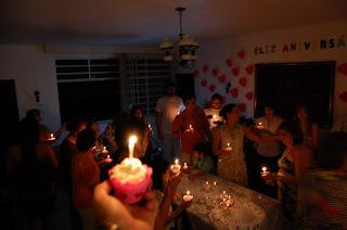 Cupcakes do aniversário da Polly