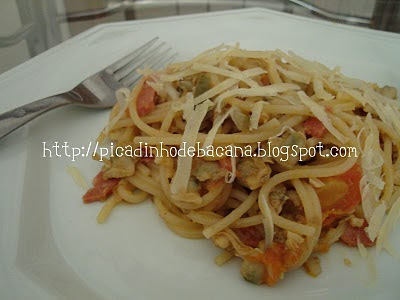 Spaghetti ao Vôngole