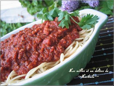 Sauce à spaghetti  # 1 de Sukie