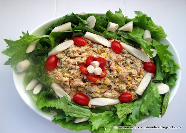 fotos de decoração de saladas