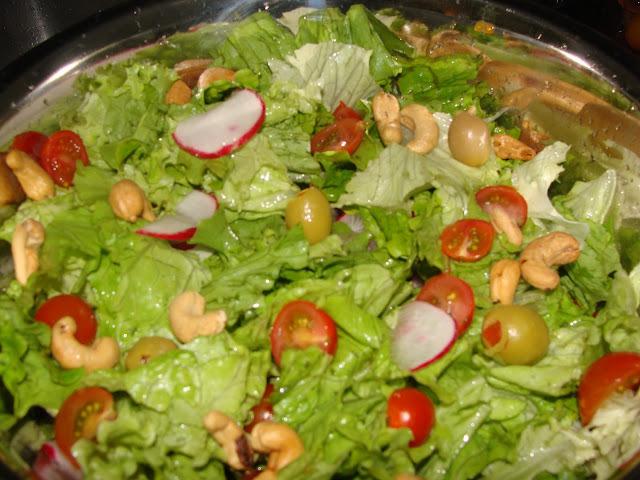 saladas para festas