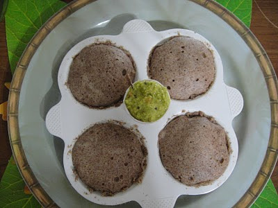 RAGI AND OATS IDLI  (VERY HEALTHY RECIPE)