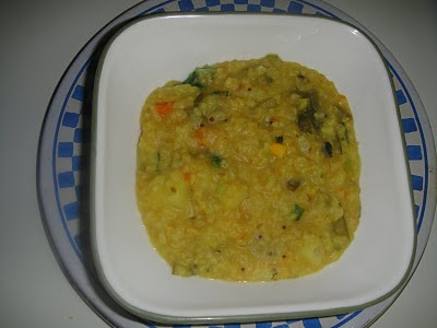 WHEAT-BULGUR MOONGDAL MIXED VEG KICHIDI