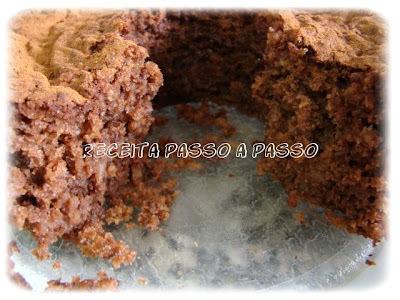 Bolo de Chocolate com Maçã e Canela