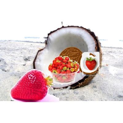 doces de morango com adoçante