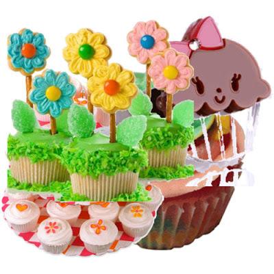 glacê para confeitar cupcakes
