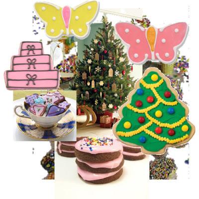 Bolachinhas confeitadas de Natal (GLOBO COMUNIDADE)