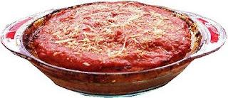 Pastel de carne a la italiana