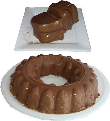 Gelamousse de chocolate