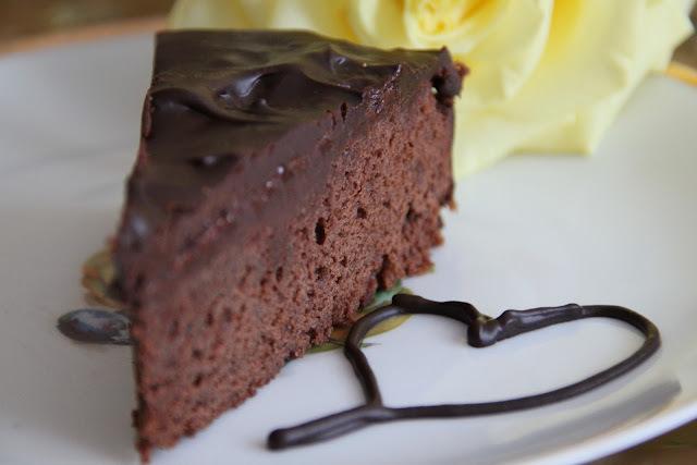 jednoduchá narodeninová torta
