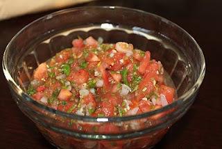 Molho Vinagrete Mexicano (Mexican Salsa)