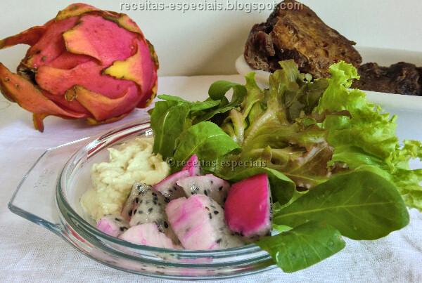 Salada de pitaya