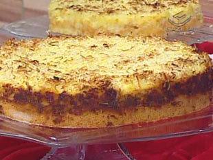 Receita de Torta de abacaxi