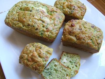 PAN DE CALABACIN Y JAMON  -  ZUCCHINI AND HAM BREAD