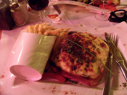 Croque Monsieur, em Paris