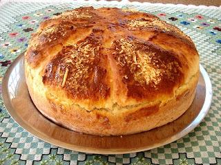 Pão de forma aromático