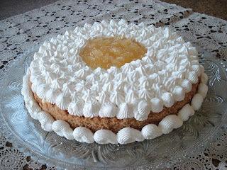 torta doce de abacaxi com bolacha