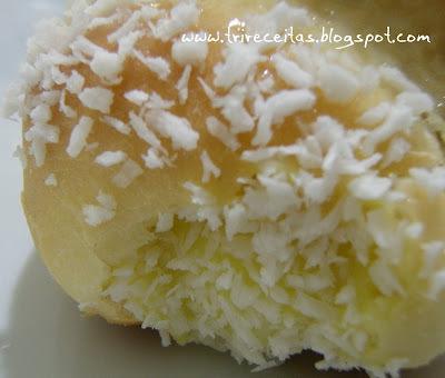 pao doce de milho de padaria