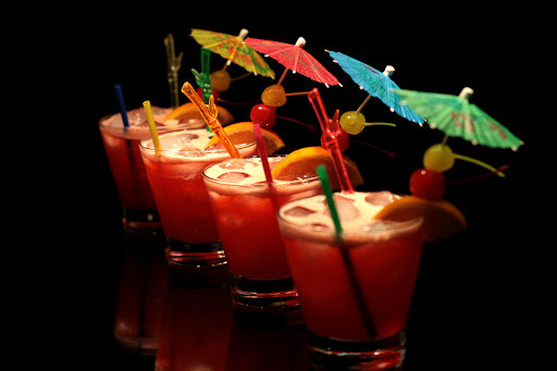 drink com polpa de fruta