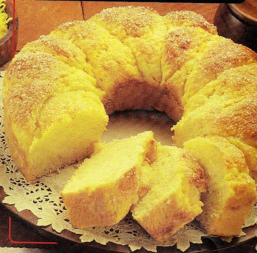Pão Doce de Mandioquinha