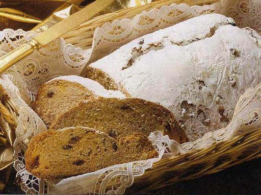 Pão de Natal com Erva-Doce