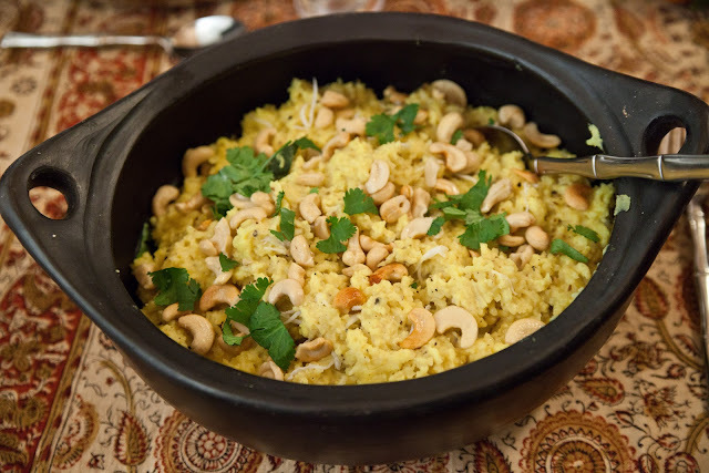Dal And Rice Ven Pongal,  The Centerpiece Of A Meatless Feast